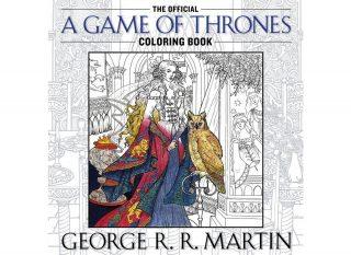 Coperta cartea de colorat pentru adulti Game of Thrones
