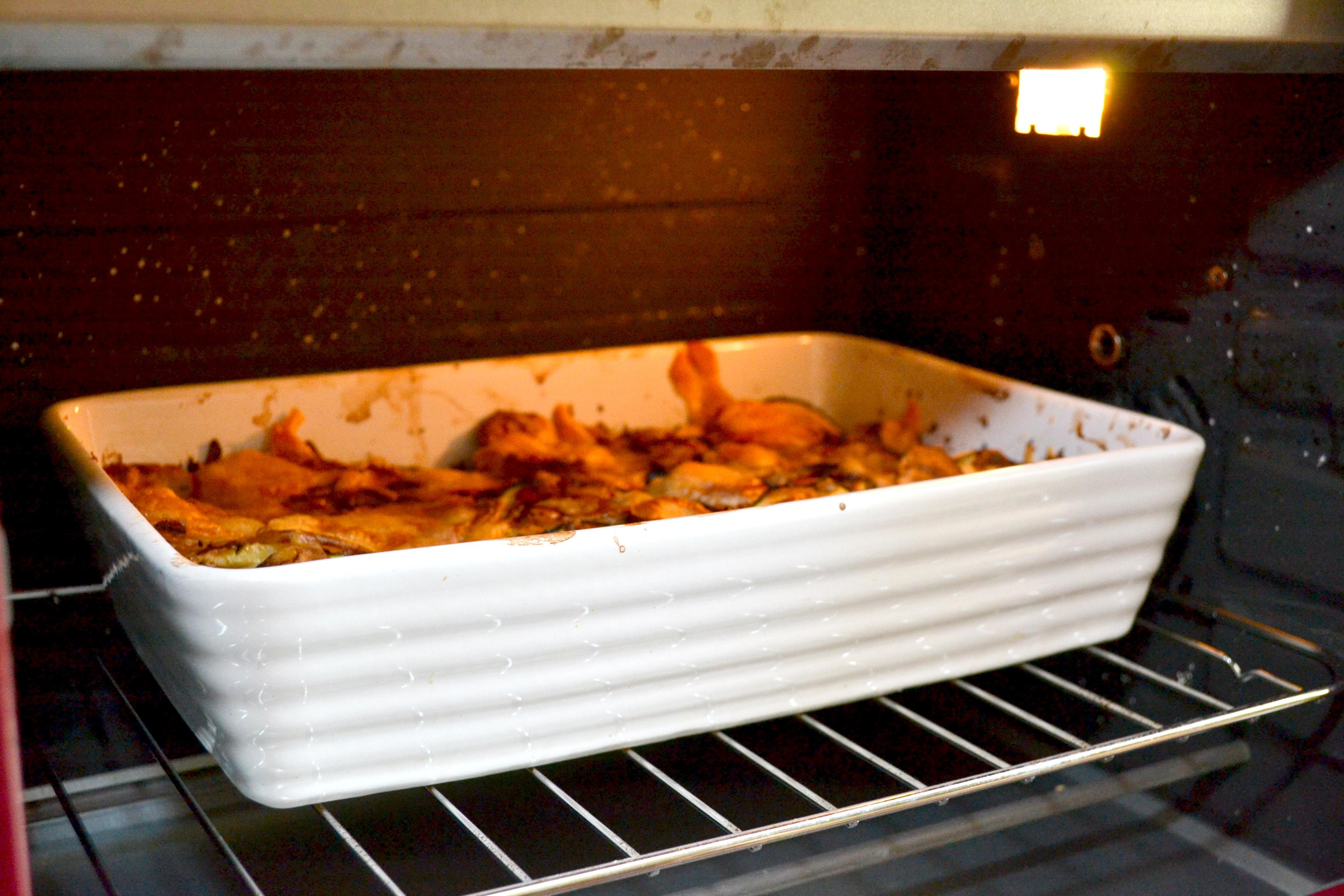 Zucchini cu cartofi,