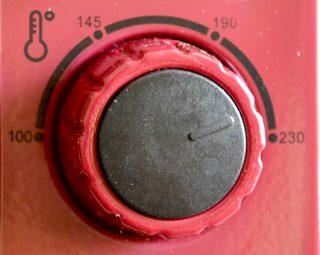 Setarea Temperaturii la 230 grade Celsius