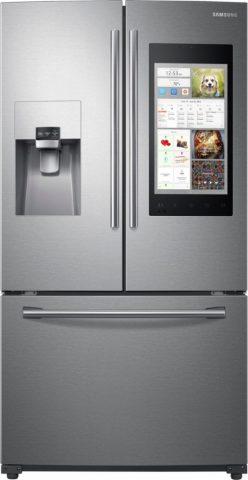 Combina frigorifica cu doua usi verticale si un sertar
