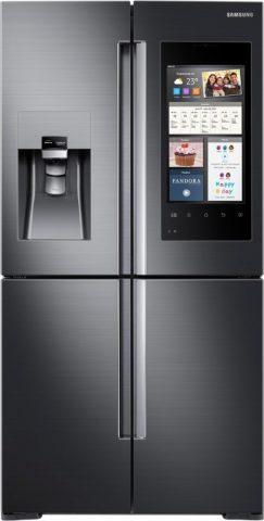 Combina frigorifica cu patru usi verticale