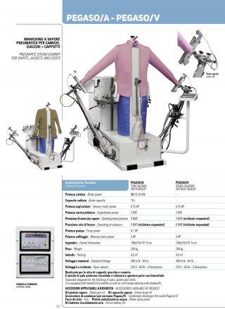 Exemplu Manechin industrial automat si pneumatic, pentru calcat camasi