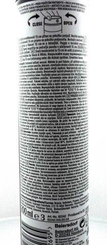 Fotografie Eticheta Deodorant
